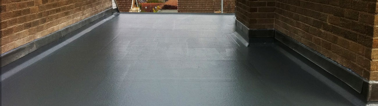 Smooth fibreglass roofing