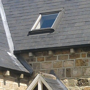 Newly fitted Velux skylights